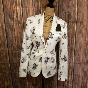 NWT ASOS Floral Suit Jacket